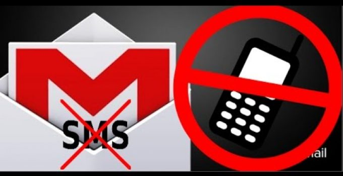 gmail sin movil